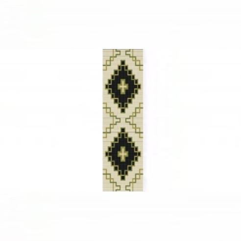 Loom Bead Pattern - NA Celtic #2 Cuff Bracelet