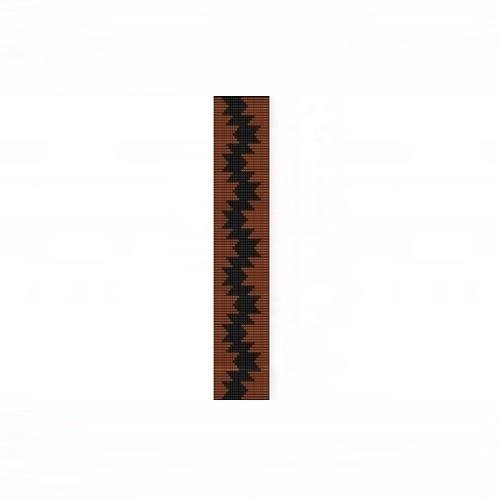 Loom Bead Pattern for Briars Patch Thin Bracelet