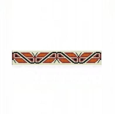 Loom Bead Pattern for NA Butterflies Thin Bracelet