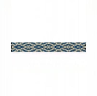 4 Drop Odd Peyote Bead Pattern for SW Diamonds Thin Bracelet