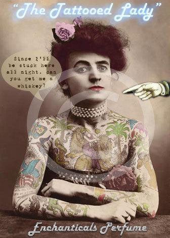 The Tattooed Lady Artisan Perfume Oil