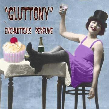 Gluttony Gothic Perfume Oil from the 7 Deadly Sins Collection