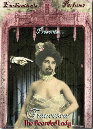 Francesca The Bearded Lady Artisan Perfume Oil