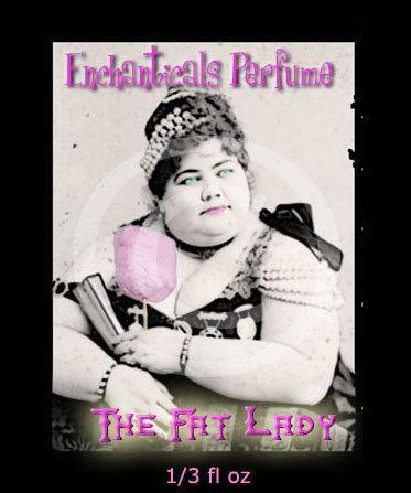 The Fat Lady Artisan Perfume oil  KrAzy KaRnIvAle Side Show Freaks collection