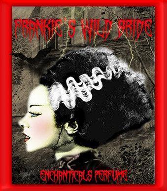 Frankie's Wild Bride Gothic Halloween Perfume Oil
