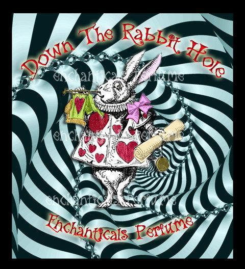 Down the Rabbit Hole Artisan Perfume Oil from the Go Ask Alice Collection