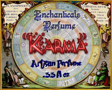 Karma unisex fragrance oil from the Peace, Love & Hippie-ness Collection