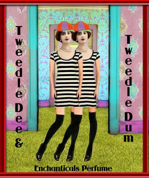 The Tweedles Gothic Artisan perfume oil from the Go Ask Alice Collection