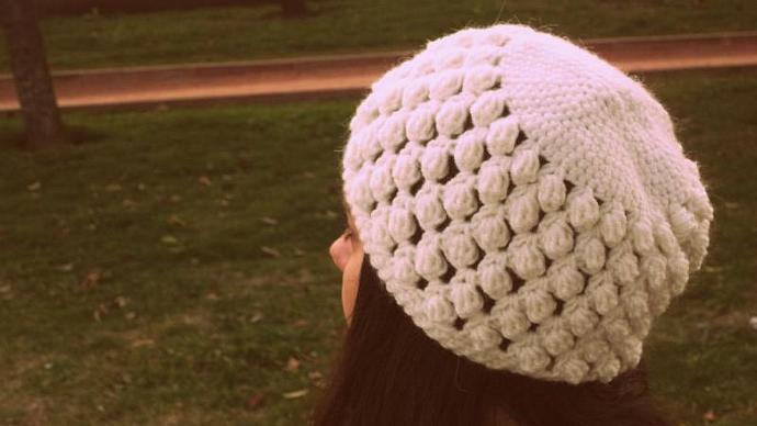 white crochet hat,handmade hat,white accessories,women hat