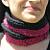 Raspberry-Refashioned Scarf Knit from T-Shirt Yarn