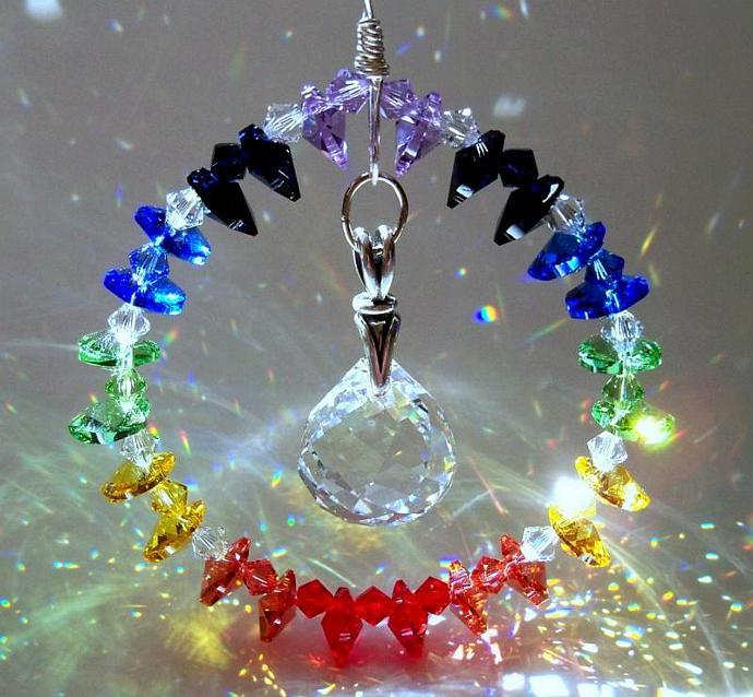 Crystal Sun Catcher - Endless Rainbow