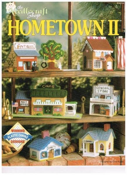 Plastic Canvas Village Shops Pattern Book
