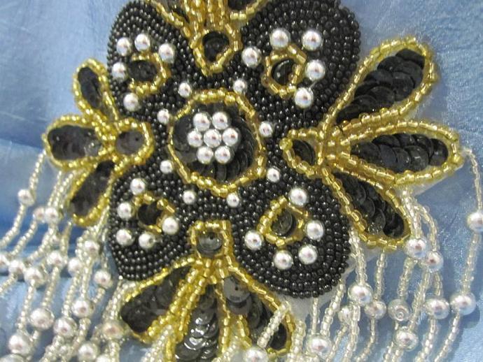 Ivory applique thin design bridal applique veil lace trim etsy