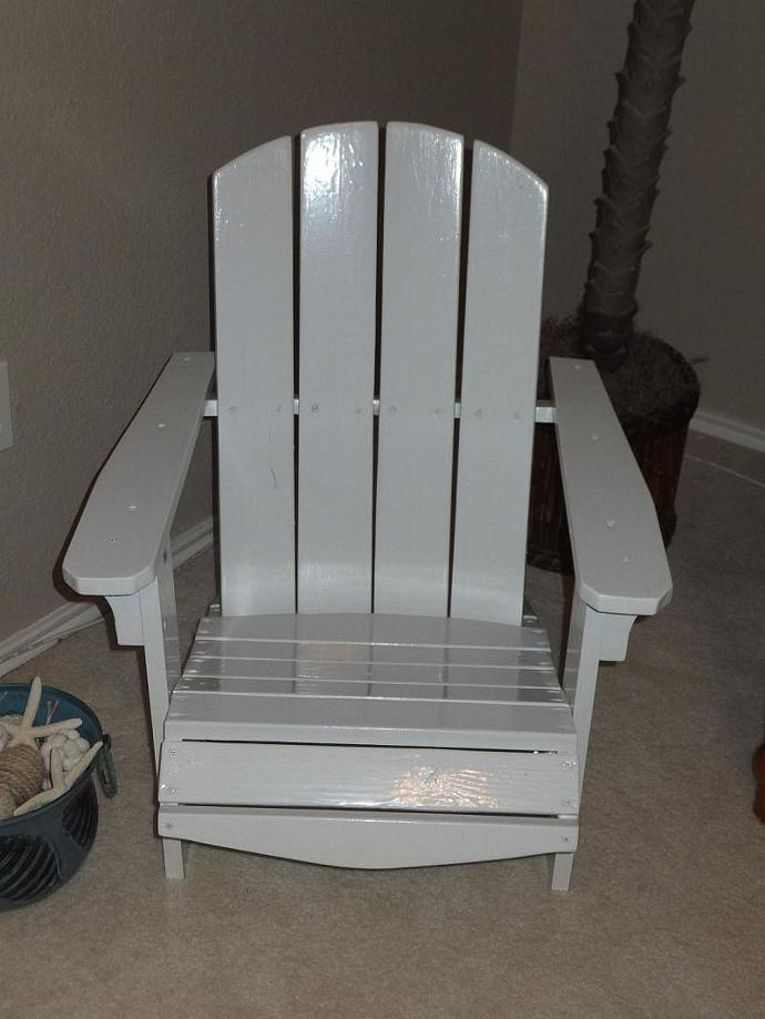 Children's adirondack chair