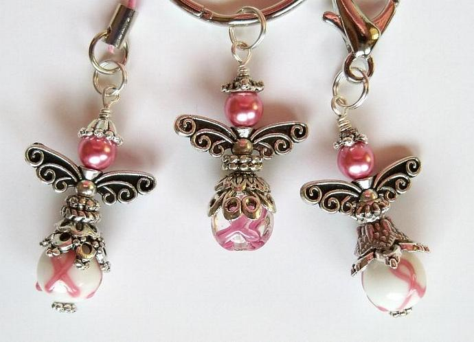 Jewelry Breast Cancer Awareness Angel