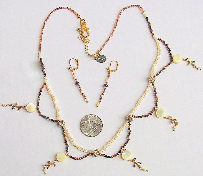 Brown Beads, Natural Tiger eye, Natural gems, Tiger Eye Beads, Pearls,  Beaded