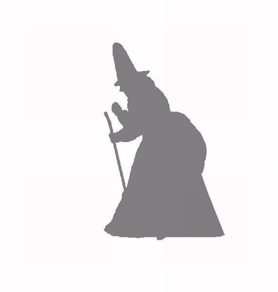 Witch No3 Scrapbook Cut Out
