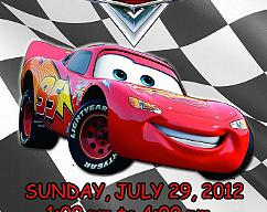 Cars Lightning McQueen Personalized Custom Birthday Invitation Digital File You Print
