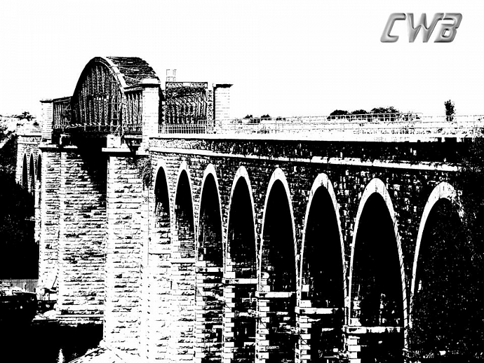 Boyne River Viaduct  fine art print
