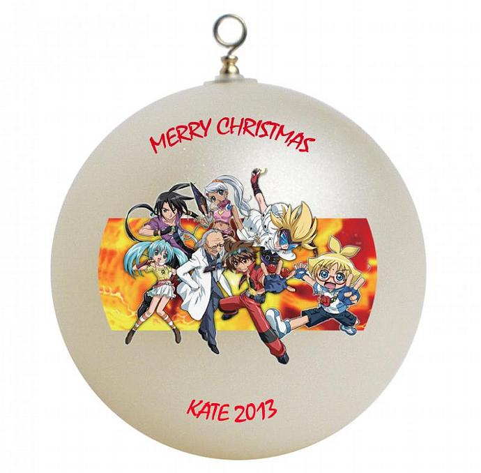 Bakugan Personalized Christmas Ornament #2