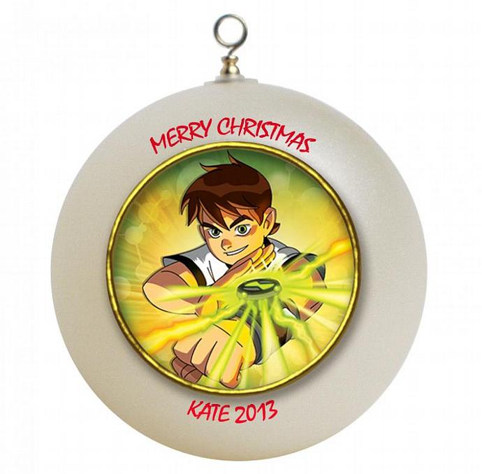 Ben 10 Personalized Christmas Ornament