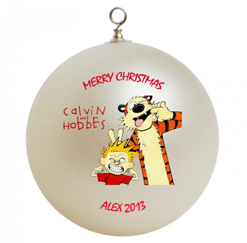Calvin and Hobbes Personalized Christmas  GiftsFromHyla