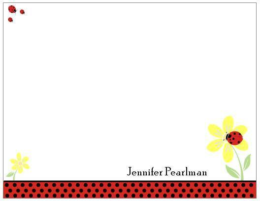 new and fun personalized flat note cards or correspondence cards many styles - Personalized Flat Note Cards
