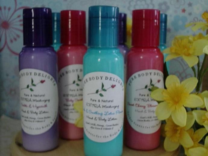 Lucky Girl Boutique--SPECIAL Pure Body Delights--EXTRA Moisturizing CREAMY and