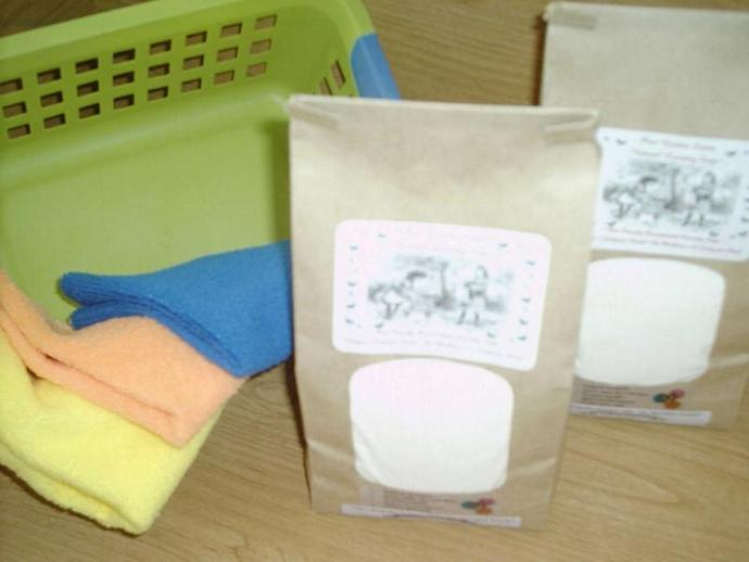SPECIAL Natural Laundry Soap--COUNTRY PUMPKIN - 100 to 200 Loads-Excellant for
