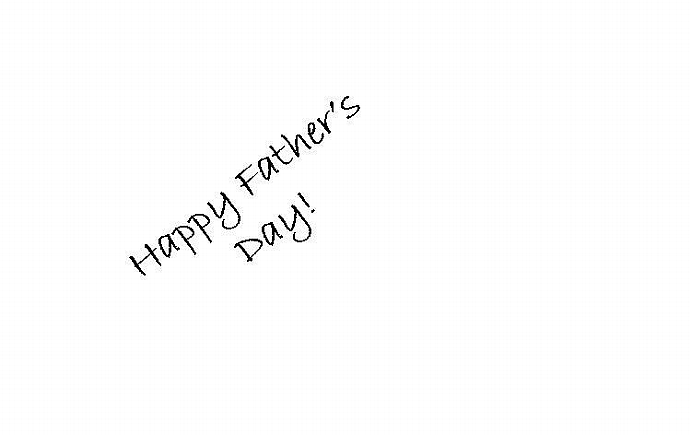 Fathers Photo Greeting card