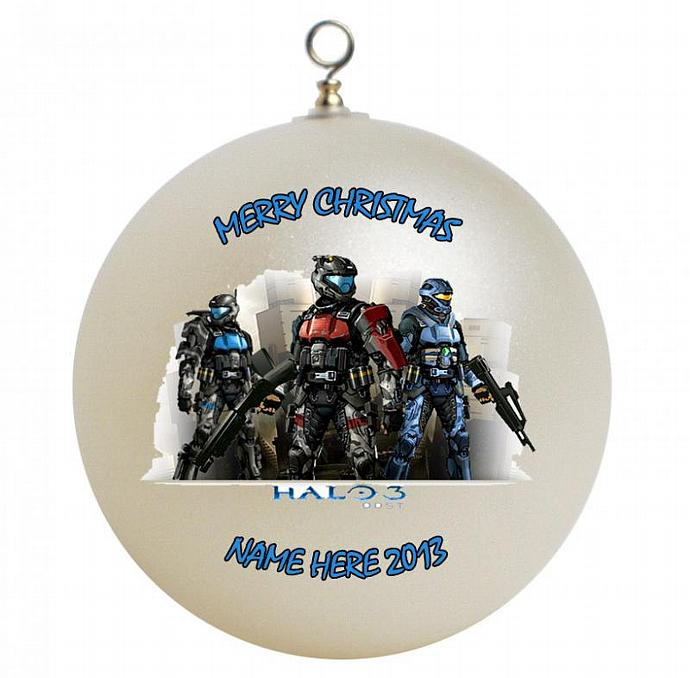 Halo Christmas Ornament.Halo 3 Odst Personalized Christmas Ornament