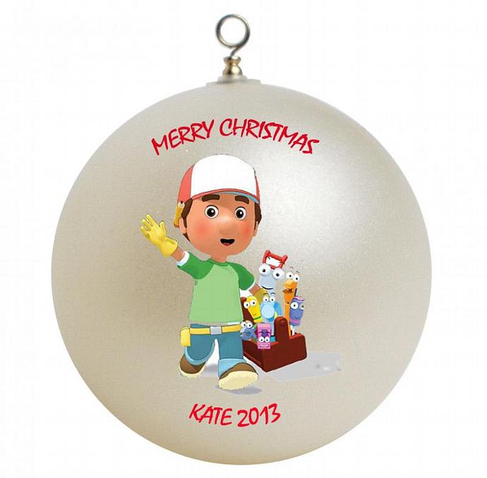 Handy Manny Personalized Christmas Ornament by ...