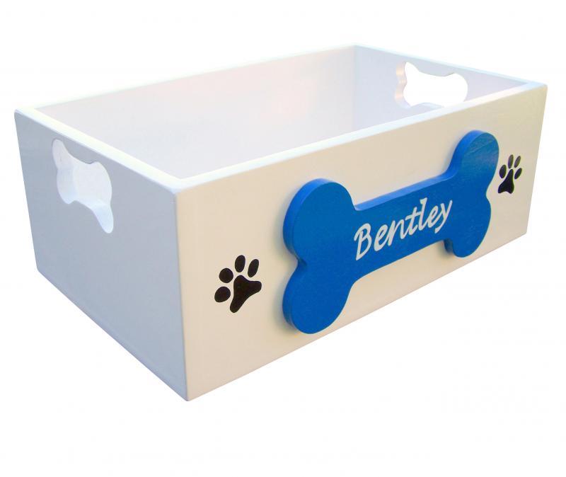 Personalized Dog Toy Box By Sassyfrasstudio On Zibbet