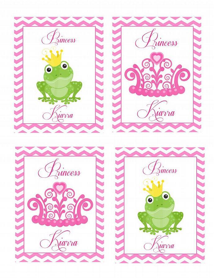 Frog Princess  Wall Plaques