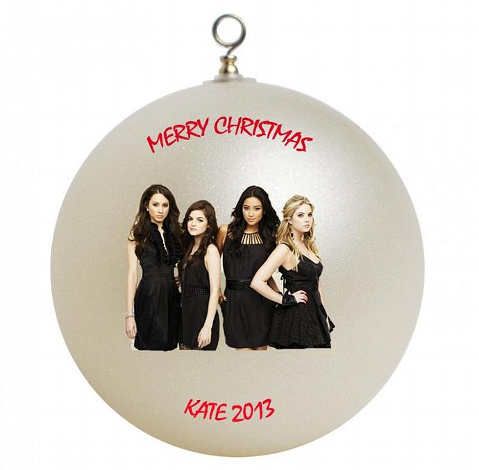 Pretty Little Liars Personalized Christmas Ornament #2