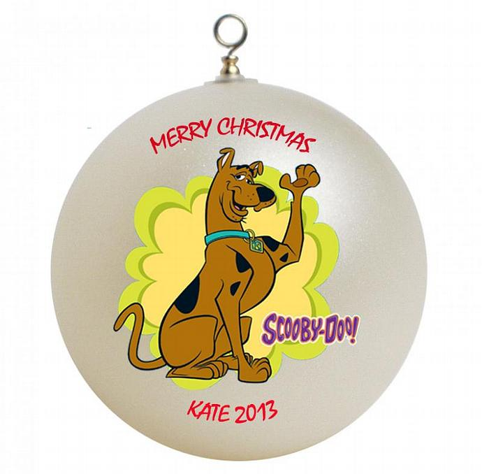 Scooby Doo Personalized Christmas Ornament