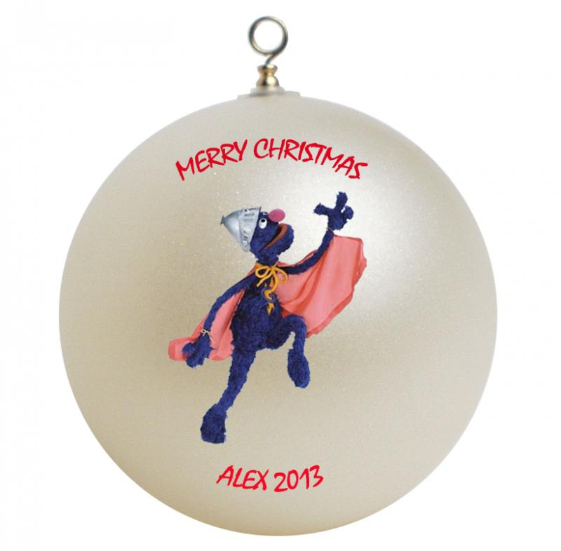 Sesame Street Super Grover Personalized | GiftsFromHyla