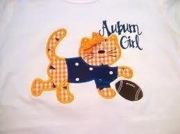 Tiger with Football Applique Machine Embroidery Design INSTANT DOWNLOAD