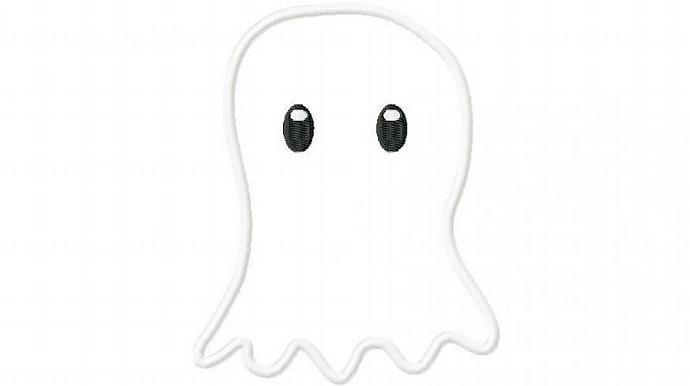 Ghost 1 Applique design Machine Embroidery Design