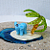 Miniature Glass Figurine - Elephant Island