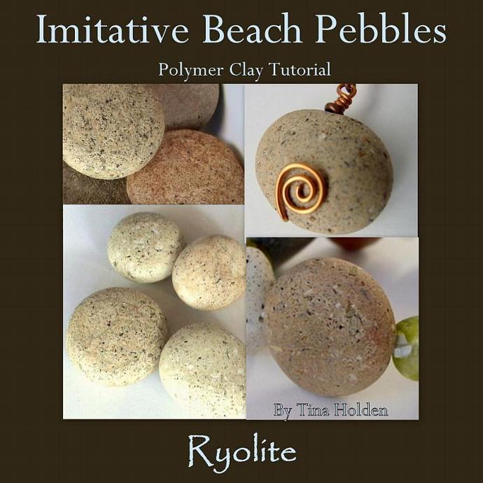 Polymer Clay Imitative Beach Stones Tutorial - Ryolite