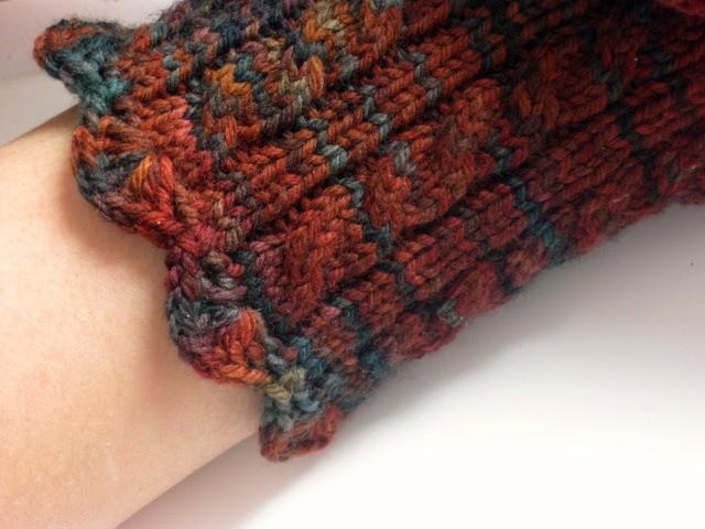 Womens wrist warmers