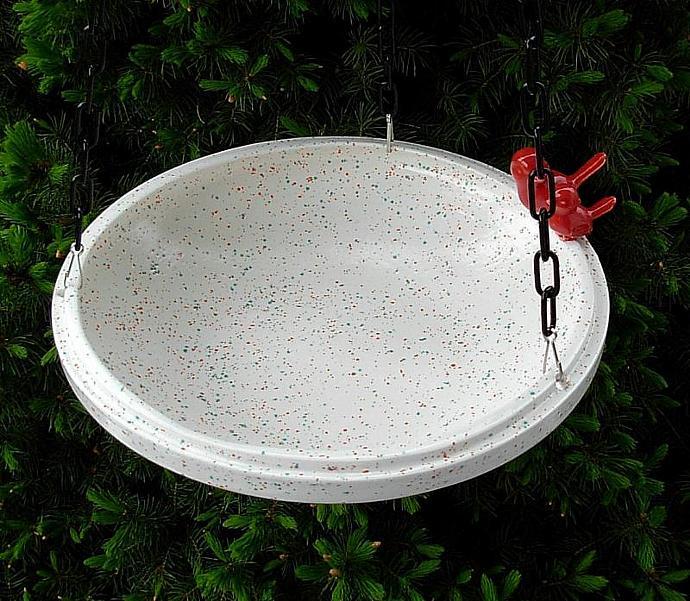 Hanging Bird Feeder / Bird Bath