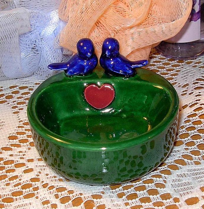Sink Side Ring Holder --   Wedding Favor Ring Holder / Jewelry Holder - Holiday
