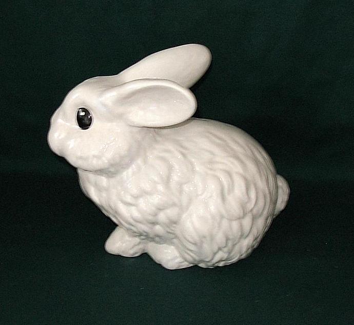 Garden Bunny  -  White