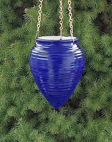 Hanging Planter  -  Royal Blue