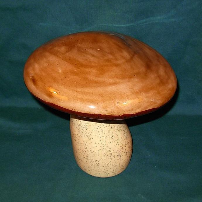 Medium Ceramic Garden Mushroom