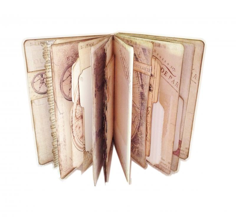 Passport travel journal ancient map diary by dorothyjane on zibbet gumiabroncs Images