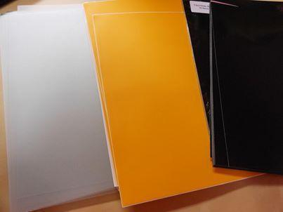 Vinyl yellow 26 sheets