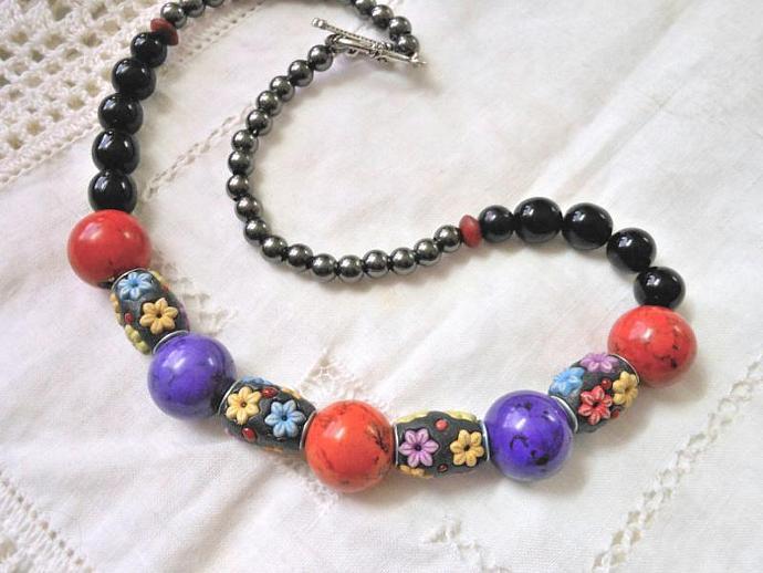 Floral Fun Necklace